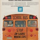 """1967 GENERAL MOTORS Ad """"MARK OF EXCELLENCE"""""""