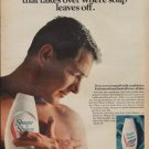 """1967 SHOWER TO SHOWER Ad """"BODY POWDER THAT TAKES OVER"""""""