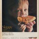 "1967 SKIPPY PEANUT BUTTER ""DIFFERENT"" Advertisement"