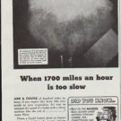 "1942 Gould Storage Battery Ad ""When 1700 miles an hour is too slow"""