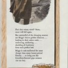 """1942 Briggs Pipe Mixture Ad """"Cask-Mellowed Extra Long for Extra Flavor"""""""