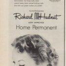 """1950 Richard Hudnut Ad """"It's the waving lotion that makes all the difference"""""""