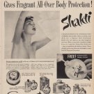 """1950 Shakti Ad """"New Deodorant Powder Gives Fragrant All-Over Body Protection!"""""""