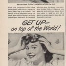 """1949 Phillips' Milk of Magnesia Ad """"How to get SLEEP!"""""""