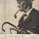"""1949 Watchmakers of Switzerland Ad """"What Makes A Country Great?"""""""
