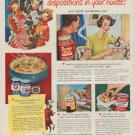 "1949 Borden's Ad ""I'll show you how to sweeten dispositions in your house!"""