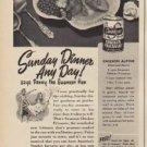 "1949 Swanson Ad ""Sunday Dinner Any Day!"""