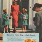 """1949 Kodak Ad """"Easter's a Happy Day ... A Day for Snapshots"""""""
