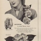 """1949 Florists' Telegraph Delivery Association Ad """"The hit of the Easter Parade"""""""