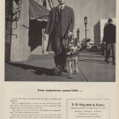 """1949 E. R. Squibb & Sons Ad """"From experience comes faith ..."""""""