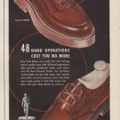 """1949 City Club Shoes Ad """"for the Best Dressed Circle"""""""