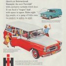"""1958 International Trucks Ad """"cost least to own!"""""""