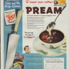 "1955 Pream Ad ""easy thrifty way"""