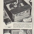 """1955 Admiral Radio-Phonograph Ad """"music to your ears"""""""