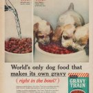 "1961 Gravy Train Ad ""makes its own gravy"""