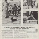 """1961 Mutual of New York Ad """"Mony's 'Add-On' Is For You"""""""