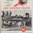 """1961 Fire-Ring Ad """"cold weather starts"""""""