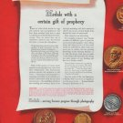 """1942 Kodak Ad """"Medals with a certain gift of prophecy"""""""
