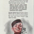 """1942 Philip Morris Ad """"All Smokers Inhale"""""""
