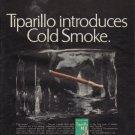 """1967 Tiparillo Ad """"Tiparillo introduces Cold Smoke"""""""