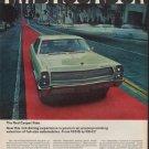 "1967 American Motors Ad ""The Red Carpet Ride"""