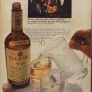 """1967 Seagram's Ad """"the Smooth Canadian"""""""