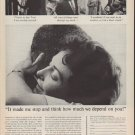 "1962 New York Life Ad ""It made me stop and think"""