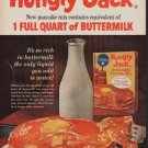 """1962 Hungry Jack Ad """"New from Pillsbury"""""""