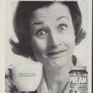 """1962 Pream Ad """"Pream or Cream?"""""""