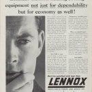 "1962 Lennox Ad ""Consider Lennox heating-cooling equipment"""