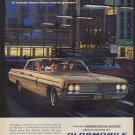 """1962 Oldsmobile Ad """"Go """"First Class"""""""""""