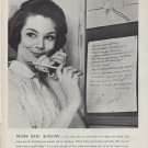 """1962 Bell Telephone System Ad """"Now You Know"""""""