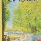 "1959 Julian de Miskey Cover Page ""Deer Crossing"""
