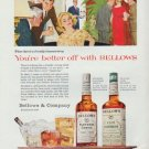 """1959 Bellows Ad """"You're better off with Bellows"""""""