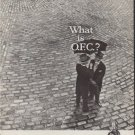 """1959 O.F.C. Ad """"What is O.F.C.?"""""""