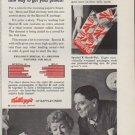 "1959 Kellogg's Ad ""Protein!"""