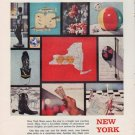 """1959 New York State Ad """"Pattern for Pleasure"""""""