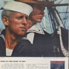 """1959 Holiday Magazine Ad """"Spend 184 Years Before The Mast"""""""