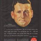 "1948 Macmillan Oil Ad ""Jim Corvan"""