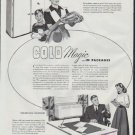 """1948 York Ad """"Cold Magic ... in Packages"""""""