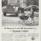 """1948 American Trucking Industry Ad """"if your life depended on it"""""""
