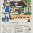 """1948 Dutch Boy Ad """"You've Worked and Saved"""""""