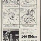 """1954 Lee Riders Ad """"Rodeo!"""""""