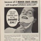"1954 Mennen Ad ""Get Better Shaves"""
