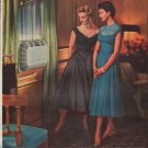 """1954 Carrier Corporation Ad """"The New Silhouette"""""""