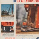 """1954 Goodyear Tires Ad """"Pile Driver"""""""