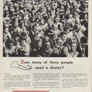 "1954 Parke, Davis & Company Ad ""How many of these people"""