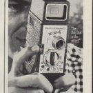 """1954 Bell & Howell Ad """"So Easy"""""""