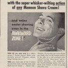 "1953 Mennen Ad ""Make Blades Last Longer"""