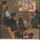 """1953 United States Brewers Foundation Ad """"Beer belongs"""""""
